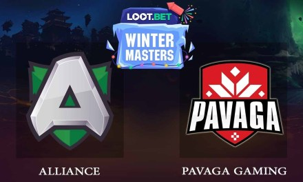 Alliance vs Pavaga Gaming Game 1 – LOOT.BET Winter Masters Grand Finals – Dota 2