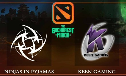 NiP vs Keen Gaming game 1 – The Bucharest Minor – Dota 2