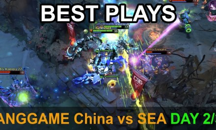 ANGGAME China vs SEA BEST PLAYS DAY 2/3 Highlights Dota 2 by Time 2 Dota #dota2