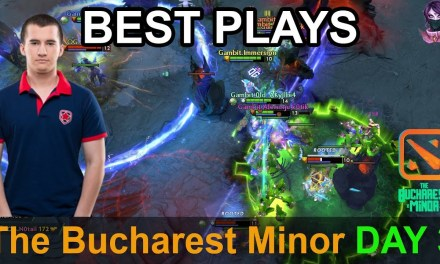 The Bucharest Minor BEST PLAYS Day 3 Highlights Dota 2 Time 2 Dota #dota2 #bucharestminor