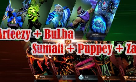 Puppey support Sumail + Zai vs Arteezy + BuLba | Ranked match