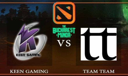 Keen Gaming vs TEAM TEAM Game 1 – The Bucharest Minor – Dota 2
