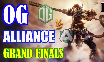 OG vs Alliance Game 1 Bo5 | Grand Finals SLI MINOR EU QUALIFER