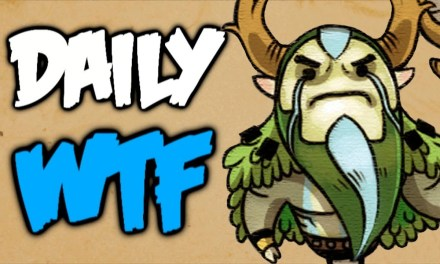 Dota 2 Daily WTF – NOT Yours