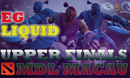 Liquid vs EG Game 2 Bo3 | Upper Final MDL Macau 2019