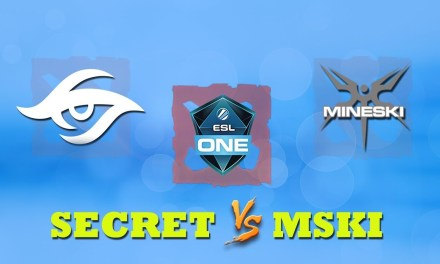 Secret vs Mineski GAME 2 Bo2 | Group Stage ESL One Katowice 2019