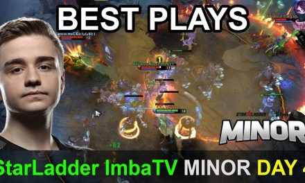 StarLadder ImbaTV Dota 2 Minor BEST PLAYS Qualifier Day 4 Highlights Dota 2 Time 2 Dota #dota2
