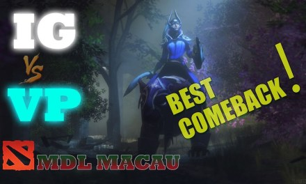 Best Comeback – VP vs IG Game 1 Bo1 | Lower Bracket R1 MDL Macau 2019
