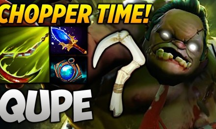 Qupe Pudge [CHOPPER TIME] Highlights Dota 2