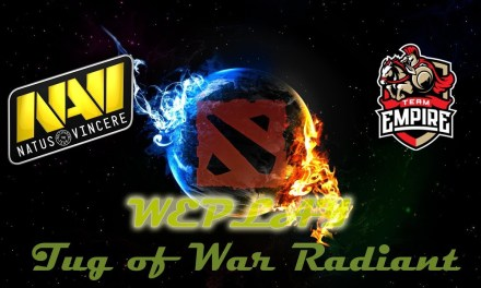 Navi vs Empire GAME 1 Bo3 | Semifinals WePlay Tug of War Radiant