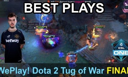 WePlay! Dota 2 Tug of War: Radiant BEST PLAYS FINAL DAY Highlights Dota 2 Time 2 Dota #dota2 #weplay