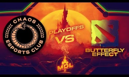 Chaos EC vs Butterfly Effec Game 1 – MDL Paris Major SA Qualifiers: Winners' Finals