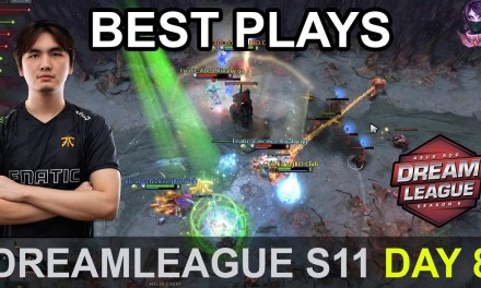 DreamLeague S11 Major BEST PLAYS Day 8 Highlights Dota 2 Time 2 Dota #dota2