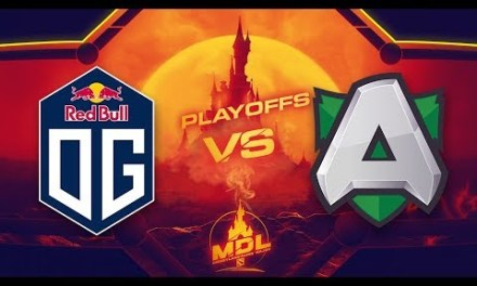 OG vs Alliance Game 2 – MDL Paris Major EU Qualifiers: Losers' Round 1