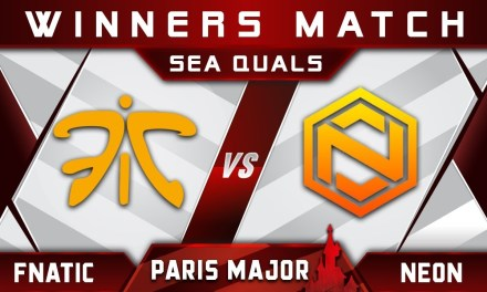 Fnatic vs Neon Winners Match Disneyland Paris Major MDL 2019 SEA Highlights Dota 2
