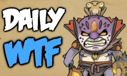 Dota 2 Daily WTF – Support Life
