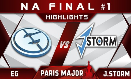EG vs J.Storm NA Final Disneyland Paris Major MDL 2019 Highlights Dota 2