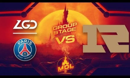 PSG.LGD vs RNG Game 2 – MDL Paris Major CN Qualifiers: Group Stage