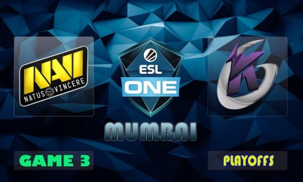 Navi vs KG Game 3 Bo3 Upper Bracket R1 | ESL One Mumbai 2019