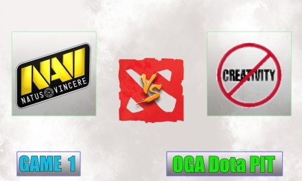 NAVI vs No Creativity Game 1 Bo3 | OGA Dota PIT Minor 2019 CIS Qualifier