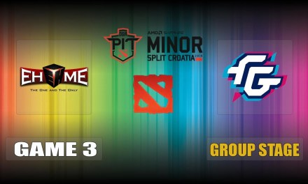 EHOME vs FWD Game 3 Bo3 Group Stage | OGA Dota PIT Minor