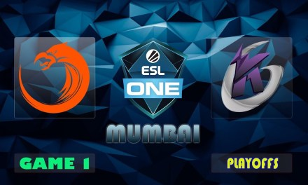 TNC vs KG Game 1 Bo3 Lower Bracket R3 | ESL One Mumbai 2019