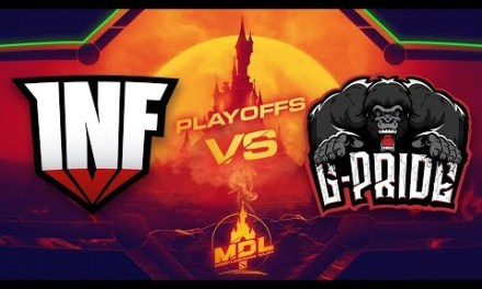 Infamous vs Gorillaz-Pride Game 2 – MDL Paris Major SA Qualifiers: Losers' Round 1