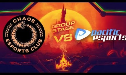 Chaos EC vs Pacific Game 1 – MDL Paris Major SA Qualifiers: Group Stage