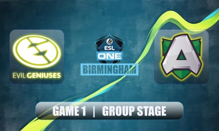 EG vs Alliance | ESL One Birmingham | Group Stage Bo2 Game 1