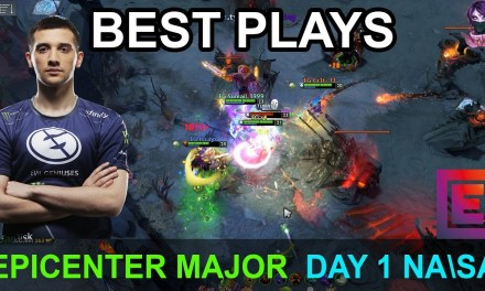 EPICENTER Major BEST PLAYS DAY 1 NASA Highlights Dota 2 Time 2 Dota #dota2 #epicenter #epicgg