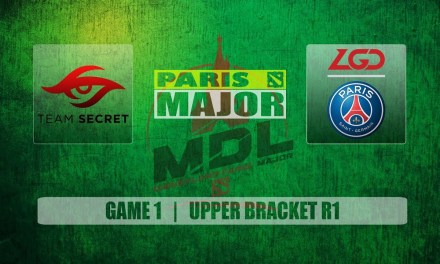 Secret vs PSG.LGD Paris Major | Upper Bracket R1 Bo3 Game 1
