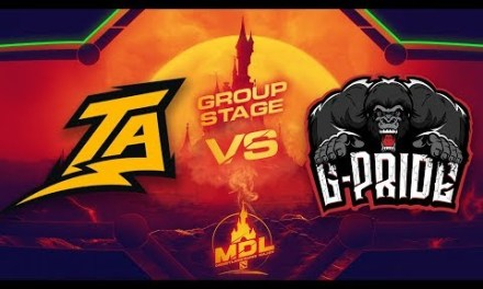 Thunder Predator vs Gorrilaz-Pride Game 1 – MDL Paris Major SA Qualifiers: Group Stage