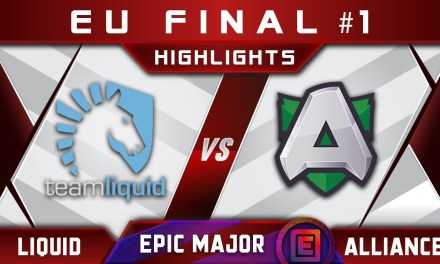 Liquid vs Alliance EU Final EPICENTER Major 2019 Highlights Dota 2