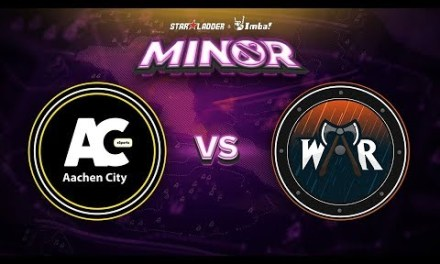 Aachen vs Wind and Rain Game 2 – SL ImbaTV Minor EU Qualifier: Group Stage
