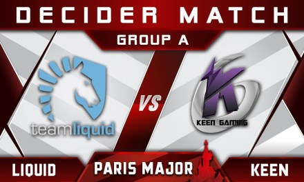 Liquid vs Keen Decider Disneyland Paris Major MDL 2019 Highlights Dota 2