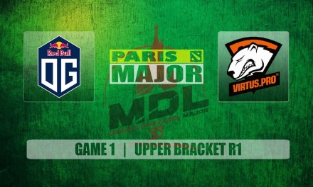 OG vs VP Paris Major | Upper Bracket R1 Bo3 Game 1