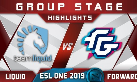 Liquid vs Forward ESL One Birmingham 2019 Highlights Dota 2