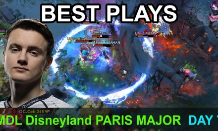 MDL Disneyland® Paris Major BEST PLAYS DAY 7 Highlights Dota 2 Time 2 Dota #dota2 #mdl