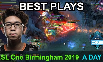 ESL One Birmingham 2019 BEST PLAYS GROUP A DAY 3 Highlights Dota 2 Time 2 Dota #dota2 #eslone