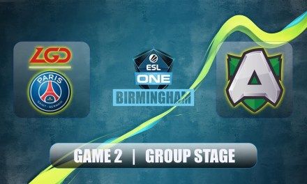 LGD vs Alliance | ESL One Birmingham | Group Stage Bo2 Game 2