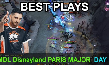 MDL Disneyland® Paris Major BEST PLAYS DAY 5 Highlights Dota 2 Time 2 Dota #dota2 #mdl