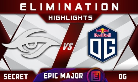 OG vs Secret Elimination EPICENTER Major 2019 Highlights Dota 2