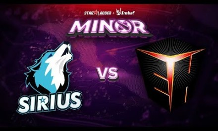 Sirius vs EHOME Game 1 – SL ImbaTV Minor CN Qualifier: Group Stage