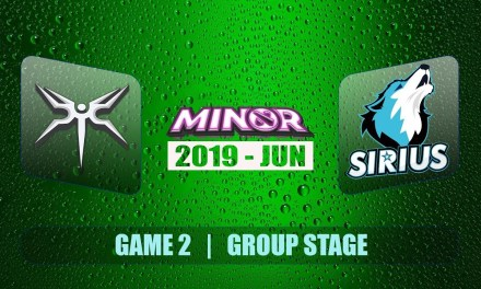 Mineski vs Sirius Sli Minor S2 | Decider Match BO3 Game 2