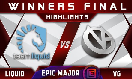 Liquid vs VG Winners Final EPICENTER Major 2019 Highlights Dota 2