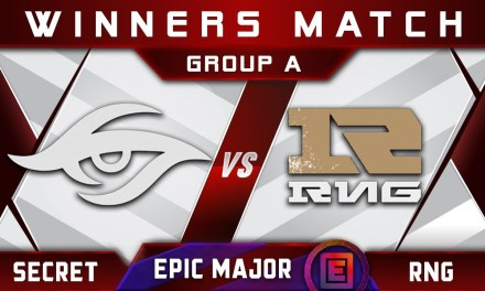 Secret vs RNG Winners A EPICENTER Major 2019 Highlights Dota 2