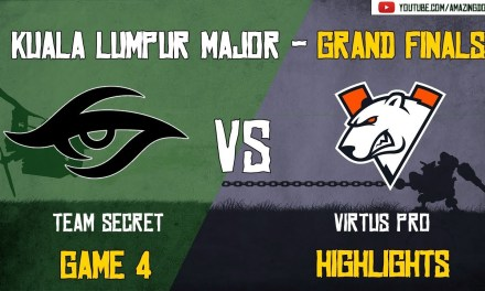 [Highlights] Team Secret vs Virtus Pro | GAME 4 – Grand Finals – BO5 | The Kuala Lumpur Major