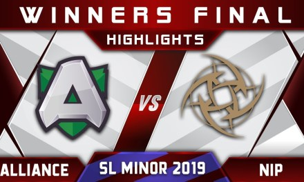 NiP vs Alliance [Major Slot] Starladder SL Kiev Minor 2019 Highlights Dota 2