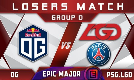 OG vs PSG.LGD EPICENTER Major 2019 Highlights Dota 2