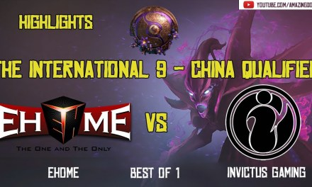 [Highlights] EHOME vs INVICTUS GAMING – BO1 | The International 2019 | China Qualifier